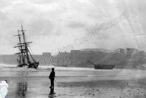 Shipwrecks at Scarborough